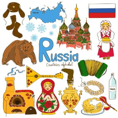 Russian through cultural stereotypes
