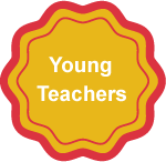 Badge Young Teacher EN